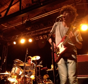 Boogarins opening for Neutral Milk Hotel's Berlin show at the beginning of August